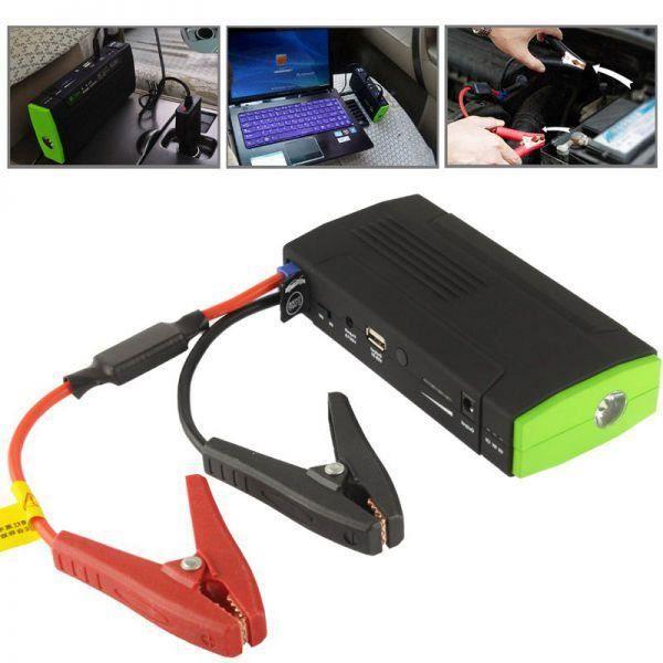 Kit de démarrage voiture batterie de secours universelle 13600mAh
