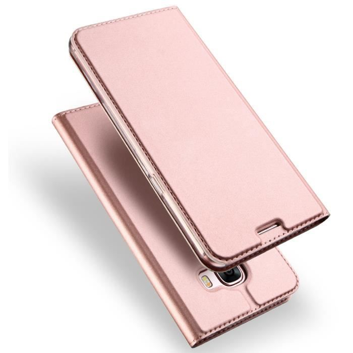 Housse etui samsung galaxy j3 2017 or rose achat for Housse j3 2017