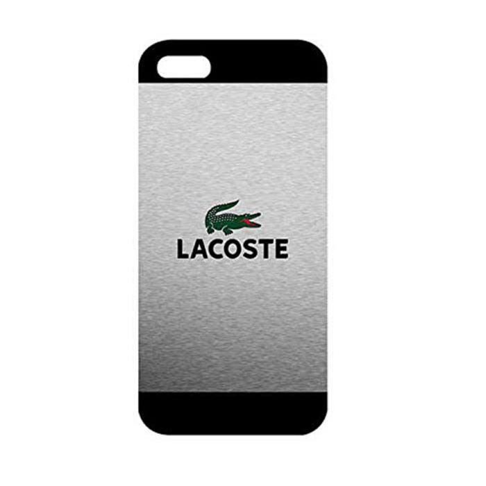 iphone 5 5s lacoste cas personnalise pour les h