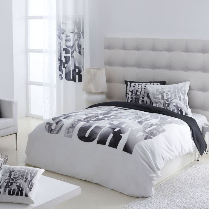 housse de couette 240x220 cm taies achat vente housse de couette cdiscount. Black Bedroom Furniture Sets. Home Design Ideas