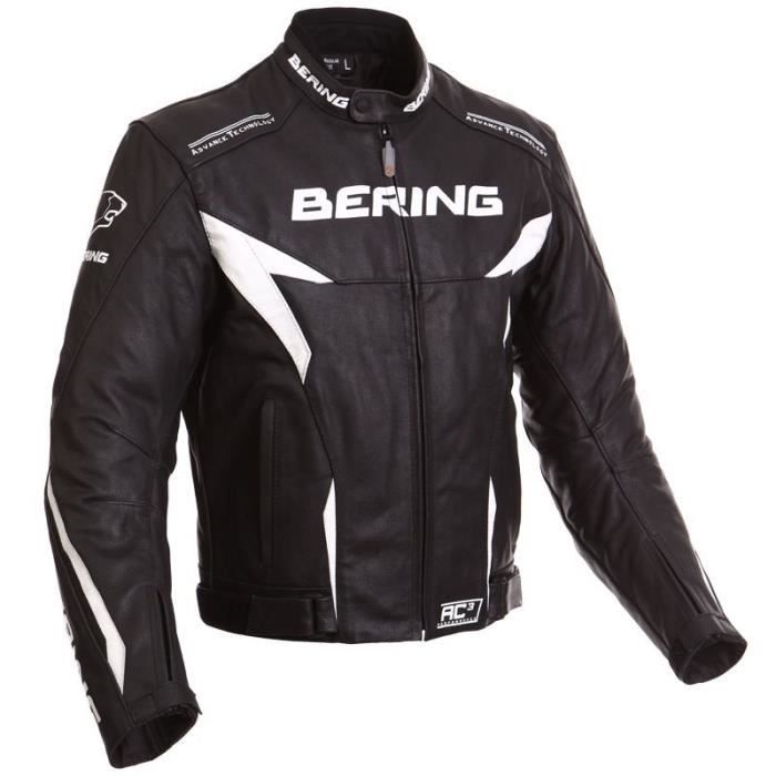 bering blouson cuir moto fizio achat vente blouson veste bering blouson moto fizio cuir. Black Bedroom Furniture Sets. Home Design Ideas