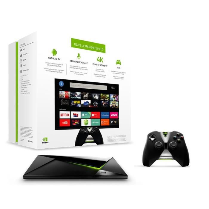 nvidia shield android tv 2015 16go prix pas cher cdiscount. Black Bedroom Furniture Sets. Home Design Ideas