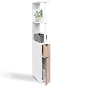 meuble wc achat vente meuble wc pas cher cdiscount. Black Bedroom Furniture Sets. Home Design Ideas