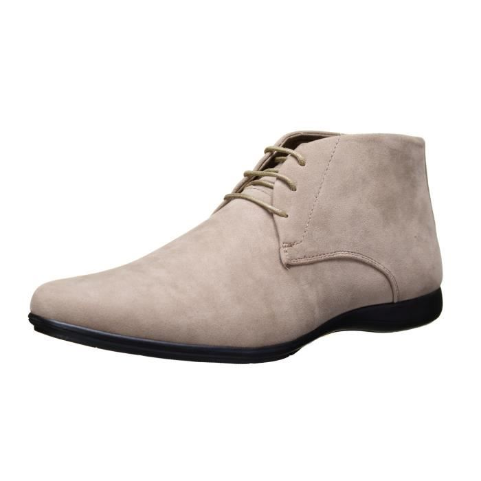Chaussure Reservoir Shoes Tarek Bottine Beige