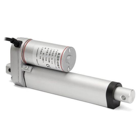 750N Actionneur Lin/éaire Electrique Droit /à Haute R/ésistance 24V Actionneur Lin/éaire de Course 200mm