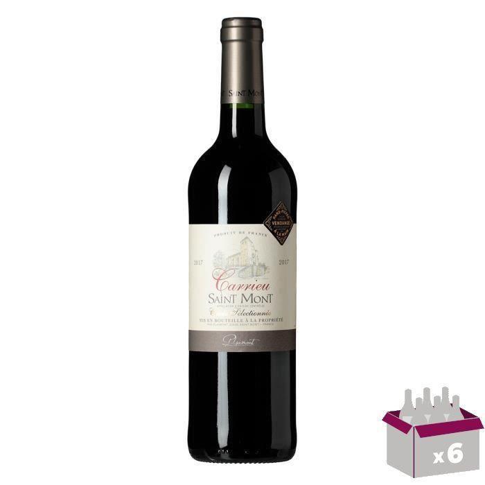Carrieu 2015 Saint Mont - Vin rouge du Sud-Ouest