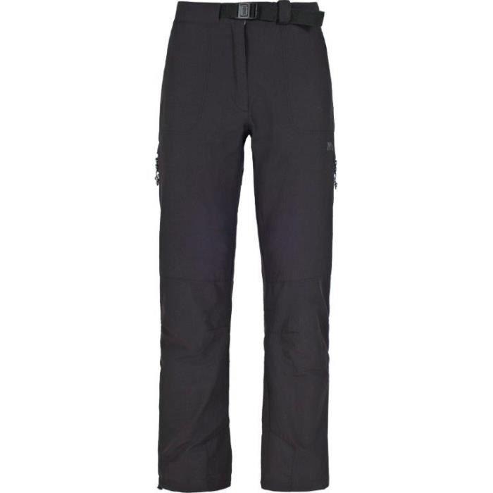 TRESPASS Pantalon de randonnée Technique Femme