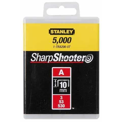 STANLEY Agrafes 10mm type A 1000 pièces