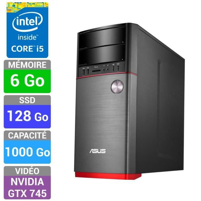 asus asus pc gamer m52ad xtreme fr006s ordinateur de ordinateurpascher. Black Bedroom Furniture Sets. Home Design Ideas