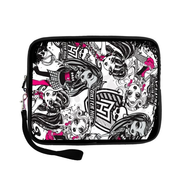 juniors console multimedia housse monster high pour tablette  f ingmhaz