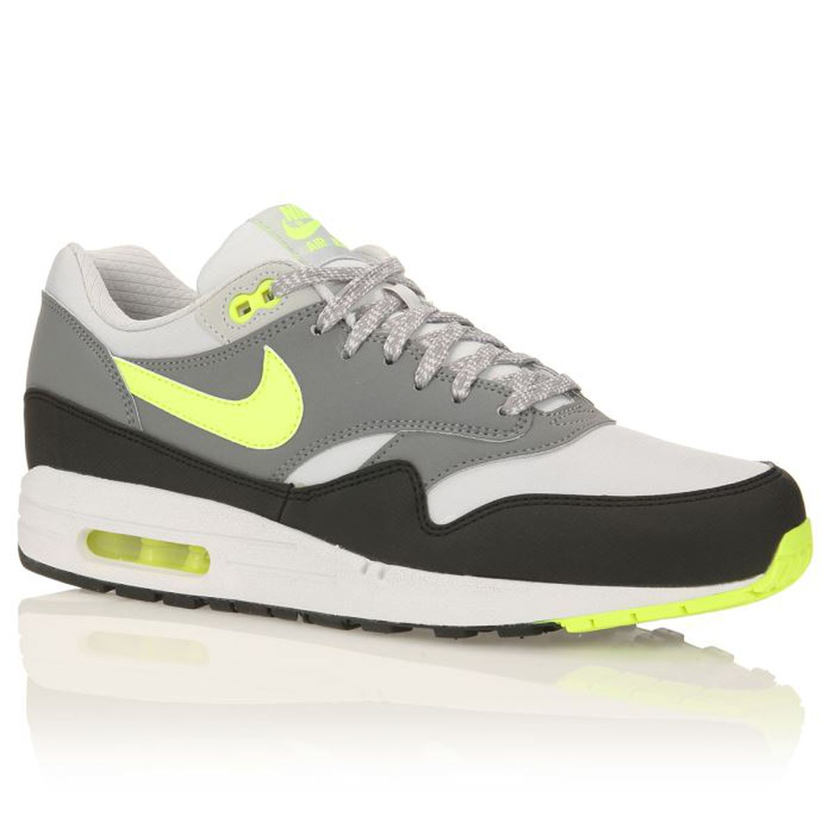 chaussures nike jaune fluo homme