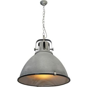 LUSTRE ET SUSPENSION Lustre - suspension style industriel avec diffuseu