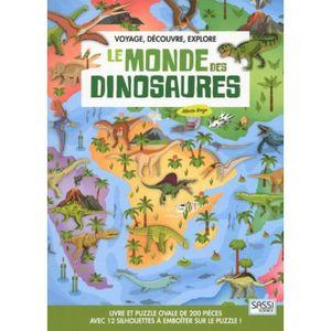 DOCUMENTAIRE ENFANT Voyage, découvre, explore - Le monde des dinosaure