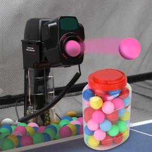 TABLE TENNIS DE TABLE Boules décoratives colorées de loterie de divertis