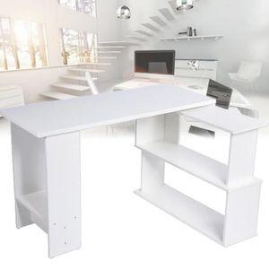 BUREAU  VAGUE Table d'ordinateur portable Bureau en forme