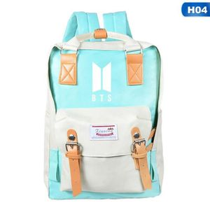 CARTABLE Hot KPOP BTS Sac à dos Bangtan Boys School Bag Sat