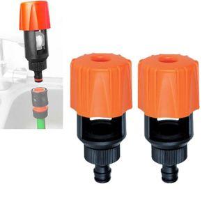 Universelle robinet connecteur pour la plupart des robinets à carré fin tuyau de jardin menuisier