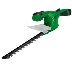 TAILLE-HAIE Taille-Haie Electrique Sans Fil 31,5 cm avec batte