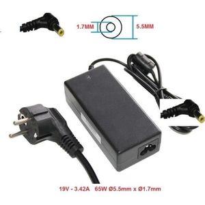 CHARGEUR - ADAPTATEUR  CHARGEUR ALIMENTATION COMPATIBLE POUR PC Portable
