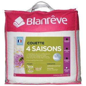 COUETTE BLANREVE Couette 4 saisons - 240 x 260 cm - Blanc