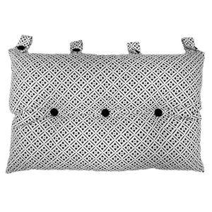 COUSSIN Tête de lit coussin 100% coton imprimé CLOVER - 50
