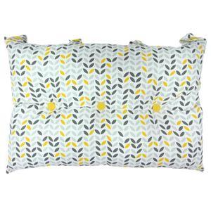COUSSIN Tête de lit coussin 100% coton imprimé MISTIGRI -