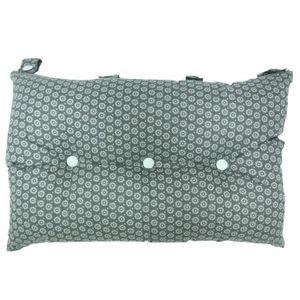COUSSIN Tête de lit coussin 100% coton imprimé SUNFLOWER -