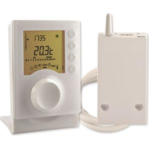 THERMOSTAT D'AMBIANCE Thermostat programmable radio Tybox 137