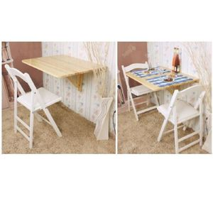 Table murale pliante achat vente table murale pliante - Table pliable bois ...
