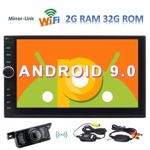 AUTORADIO EINCAR 7 pouces Android 9.0 Video Player Car Stere