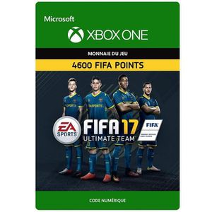 EXTENSION - CODE DLC FIFA 17 Ultimate Team: 4600 Points pour Xbox O