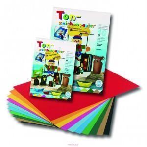 PAPIER CRÉATIF 10 Feuilles de Carton de couleur - Folia