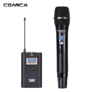 MICROPHONE COMICA 48 canaux sans fil UHF poche système de mic