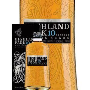 WHISKY BOURBON SCOTCH Highland Park - 10 ans - Single Malt Whisky - 40%