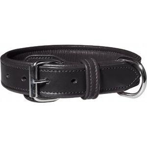 COLLIER Knuffelwuff Detroit Real Leather Dog Collar Y9UUZ