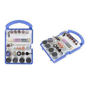 ACCESSOIRE MACHINE Coffret accessoires pour Mini outil type Dremel 19