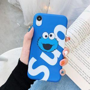 COQUE - BUMPER Coque iPhone 11,Supreme Bleu Antichoc Premium Coqu