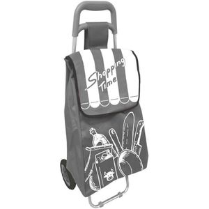 SAC SHOPPING Chariot De Courses A Roulettes Design Shopping Tim