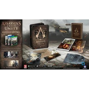 JEU PC ASSASSIN'S CREED : UNITY - BASTILLE EDITION [IM…
