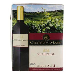 VIN ROUGE Celliers du Mazet Vin rouge - 5 litres