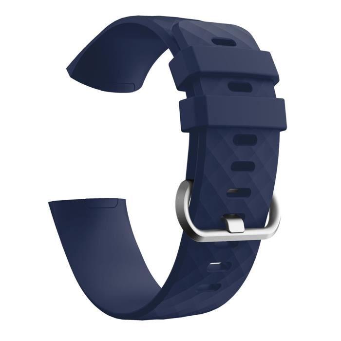 bracelet de montre vendu seul Nouvelle bande de bracelet en silicone pour sports de mode pour Fitbit Charge 4 TZZ200409667NY_non