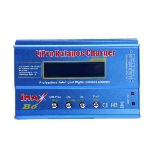 iMax B6 numerique LCD RC chargeur de batterie Lipo NiMh accessoires de ch P2R