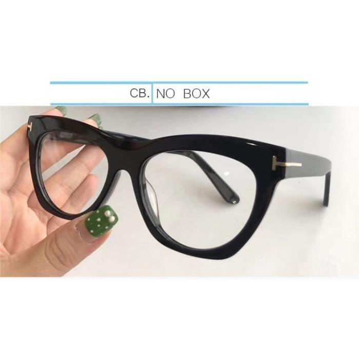 Montures de Lunettes de vue,IVSTA lunettes optiques TF5559 Monture pour femmes, acétate fait à la main, marque de - Type CB.-NO BOX