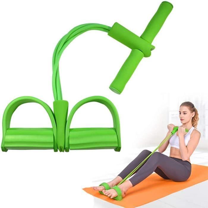 {Yokata} Corde de Tension, 4 Cordes de pédale pour Tube Bandes d'exercice de Musculation Expander Le Gymnase à la Maison, Vert