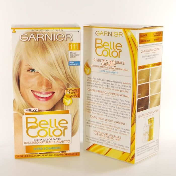 BELLE COLOR 111 Ch.Mo Ash Blond Couleurs Cheveux