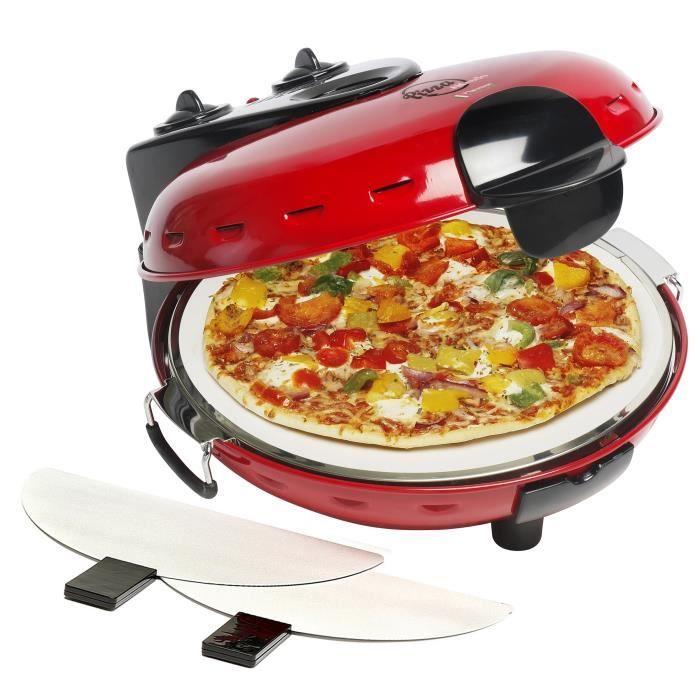 BESTRON DLD9070 Four à pizza - Rouge
