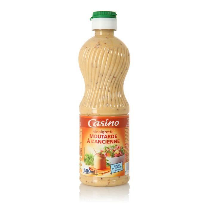 Vinaigrette moutarde - 50cl - Légère