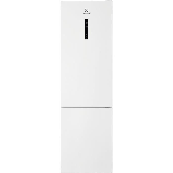 ELECTROLUX LNC7ME34W2 - Réfrigérateur congélateur bas - 360L (244+94) - No Frost - L60x H201cm - Blanc