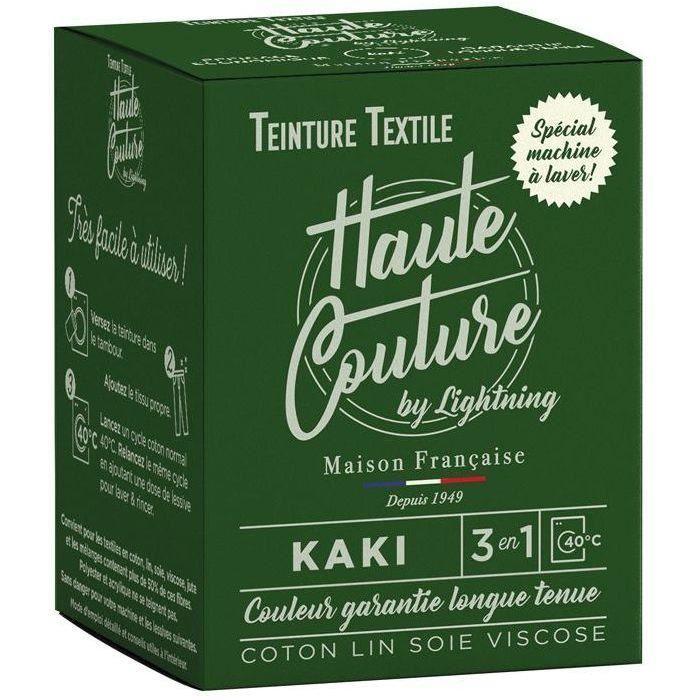 Teinture textile haute couture kaki 350g
