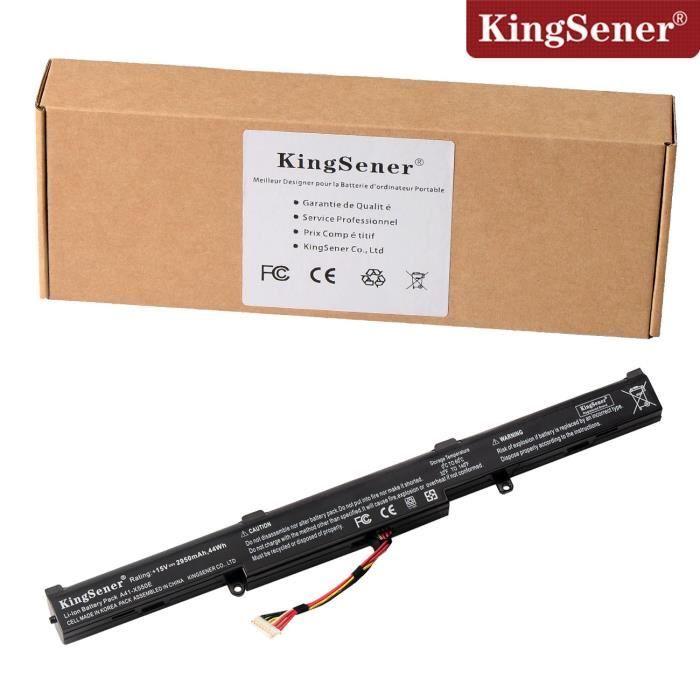 Kingsener A41 X550e Batterie de Remplacement pour Asus X450 X450j X450jf X751m X751ma X751l X750ja A450jf A450jf A450e 44Wh